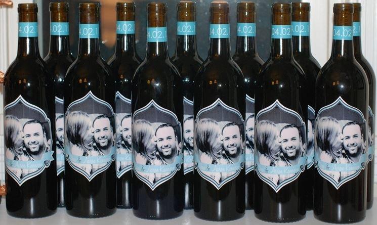 Bottiglie personalizzate con fotografia