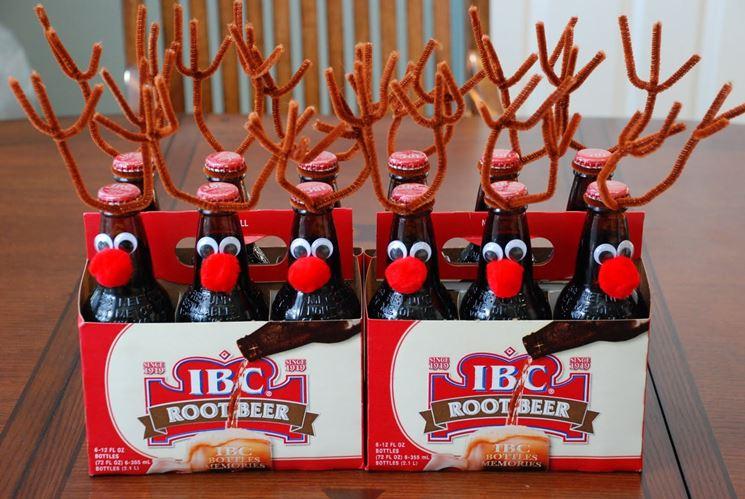Bottiglie personalizzate per Natale