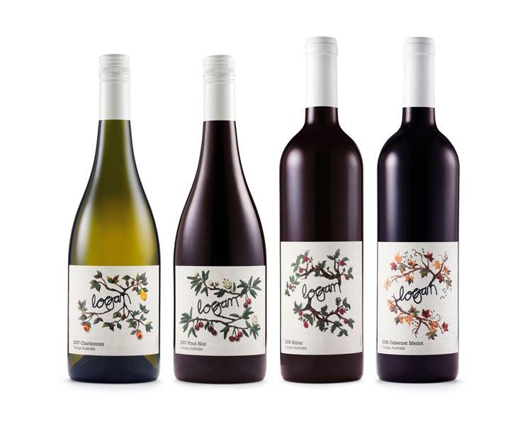 Varie etichette per bottiglie