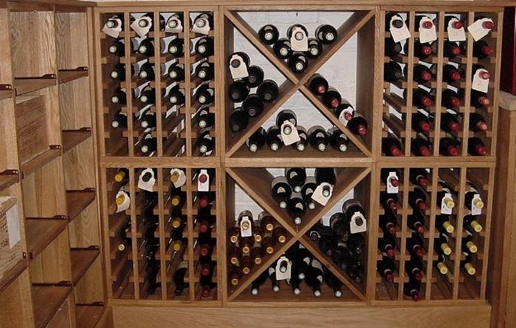 Cosa fare se non si ha una cantina caratteristiche cantina for Scaffali per vino ikea