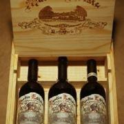 scatole in legno per il vino