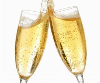 Champagne in cucina