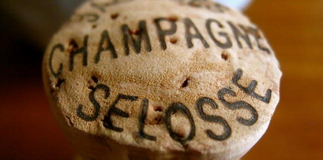 <h6>Champagne Jacques Selosse</h6>Selosse � una piccolissima cantina che fornisce i migliori champagnes prodotti con metodologie del tutto particolari, frutto della grande esperienza e capacita del suo proprietario