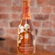 La splendida bottiglia belle epoque rosato