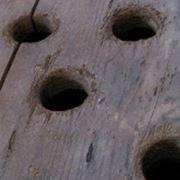 Uno vecchia pupitre conservata alla Veuve Clicquot