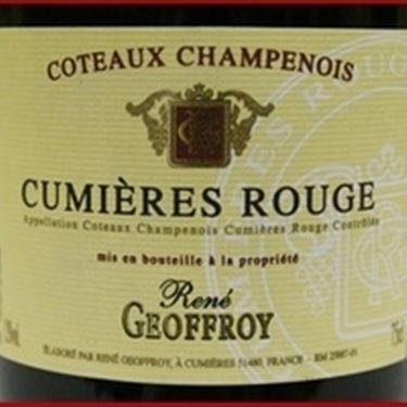 Il Coteaux Champenois di Geoffroy
