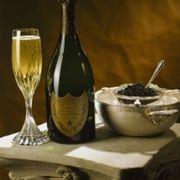 Caviale e champagne