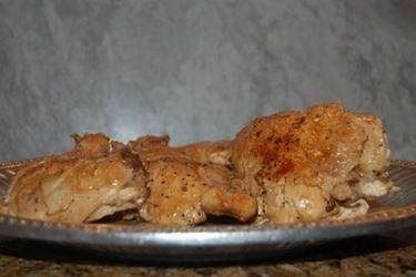 Pollo al vino bianco