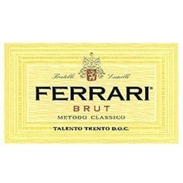 L'etichetta del Ferrari
