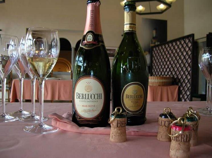 Spumanti Cantine Berlucchi, versione classica e rosè