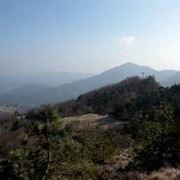 Il panorama della valle