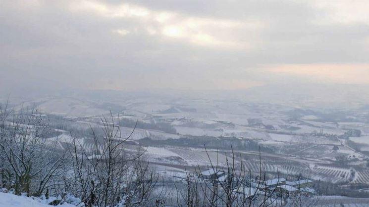 Le Langhe d'inverno