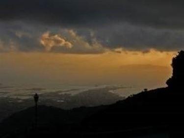 La zona di Erice al tramonto