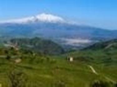 Il panorama dell'Etna