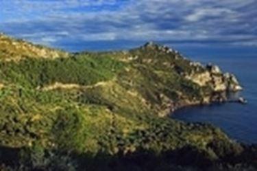 Il panorama nei dintorni di Porto Ercole