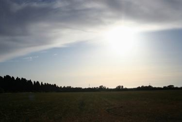 Il panorama a Bolgheri