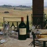 Il panorama dalla tavola
