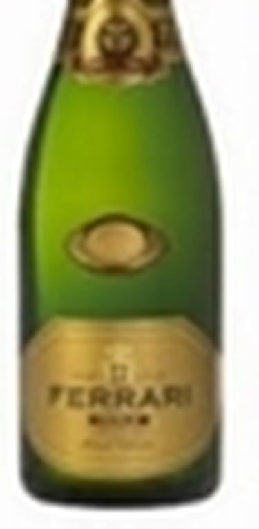 Una bottiglia di Ferrari, la migliore espressione di questo vino spumante