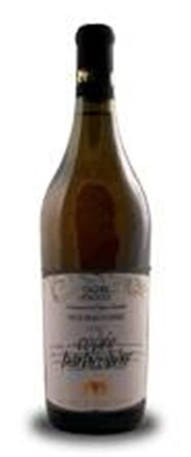 L'elegante bottiglia di Crotta per la Cuvée Particulier