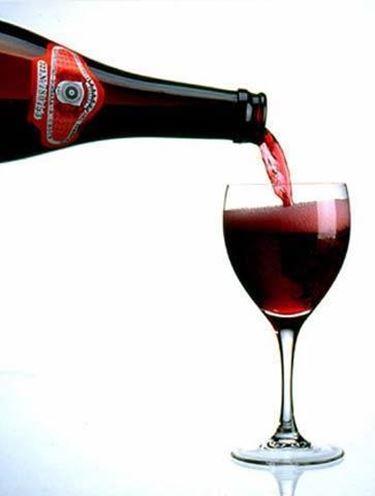 I vini frizzanti possono essere bianchi, rossi o rosati