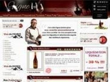 un sito web per l acquisto in internet dei vini