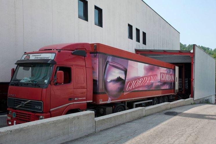Trasporto vini Giordano