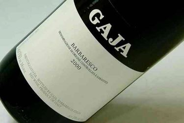 Bottiglia di Barbaresco Gaja