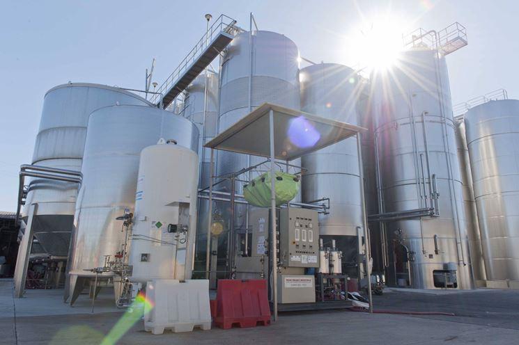 Impianti di fermentazione per la macerazione carbonica