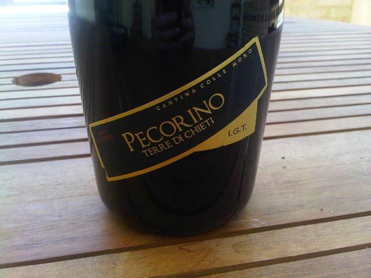 Un vino Pecorino IGT