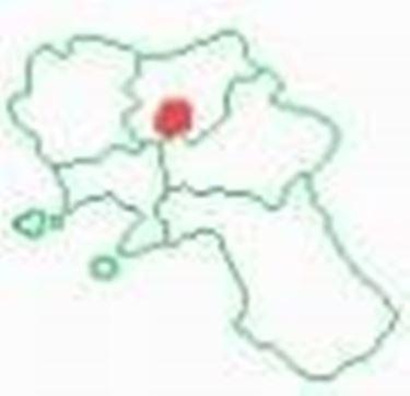 La zona sulla mappa