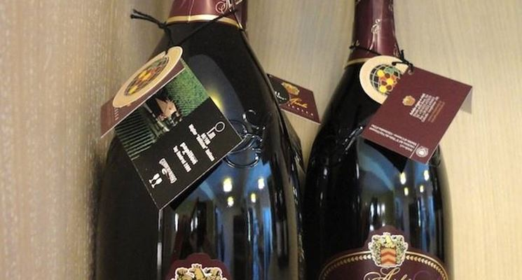 Bottiglie di Lambrusco Marcello