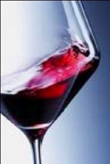 Un bicchiere di rosso