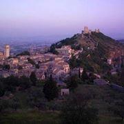 Uno scorcio delle colline intorno Assisi