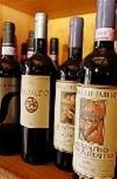 alcune bottiglie di Sagrantino